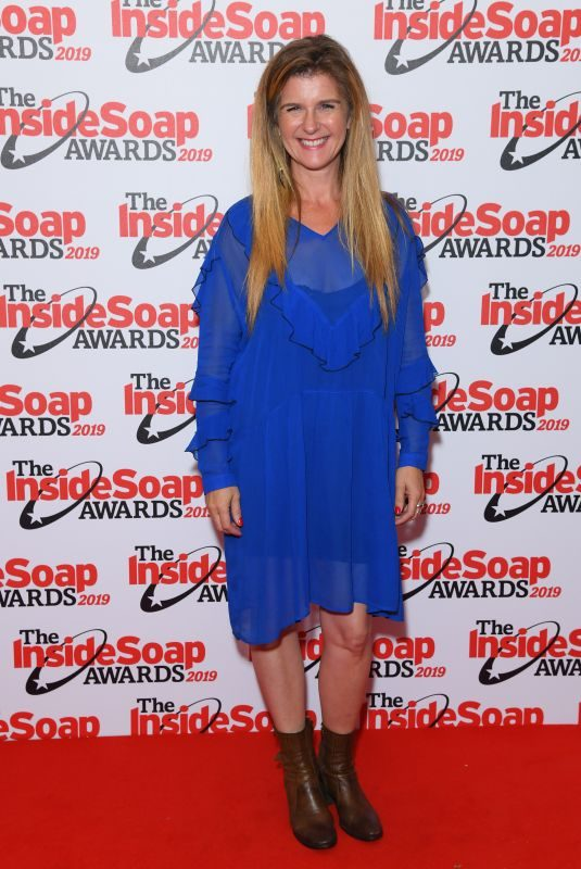 CONNIE HYDE at Inside Soap Awards 2019 in London 10/07/2019