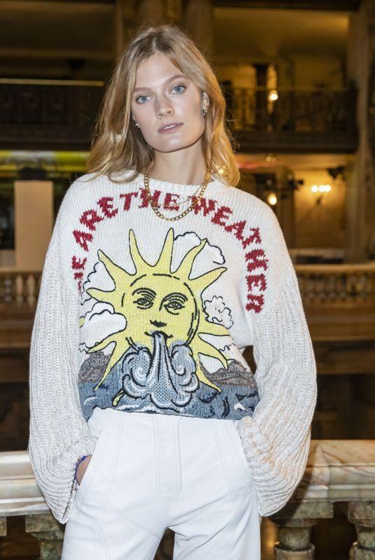 CONSTANCE JABLONSKI at Stella McCartney Show at Paris Fashion Week 09/30/2019