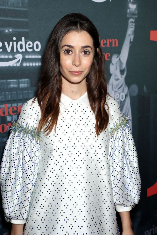 CRISTIN MILIOTI at Museum of Modern Love Premiere in New York 10/10/2019