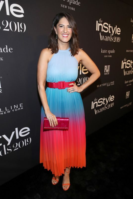 D'ARCY CARDEN at 2019 Instyle Awards in Los Angeles 10/21/2019
