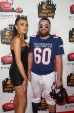 DAISY MASKELL at Kiss FM Haunted House Party in London 10/25/2019