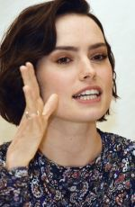 DAISY RIDLEY at Star Wars Press Conference in Los Angeles 08/25/2019