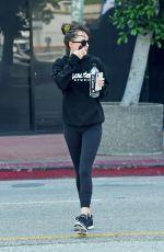 DAKOTA JOHNSON Leaves a Gym in Los Angeles 10/09/2019