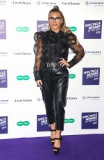 DANI DYER at Spectacle Wearer of the Year Awards in London 10/08/2019
