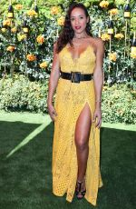 DANIA RAMIREZ at Veuve Clicquot Polo Classic at Will Rogers State Park in Los Angeles 10/05/2019