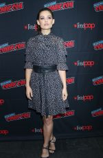 DANIELLE CAMPBELL at Tell Me A Story Press Room at New York Comic-con 10/03/2019