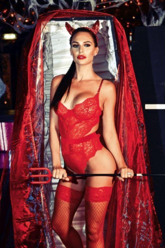 DANIELLE LLOYD – Red Devil Photoshoot, October 2019