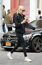 DAPHNE GROENEVELD Leaves Gym in New York 10/06/2019