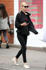 DAPHNE GROENEVELD Leaves Gym in New York 10/06/2019