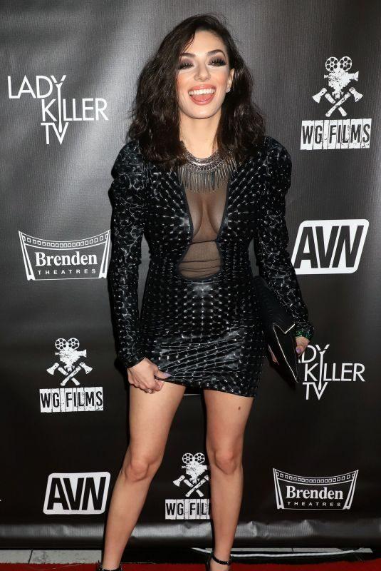 DARCIE DOLCE at Ladykiller Premiere in Las Vegas 10/23/2019