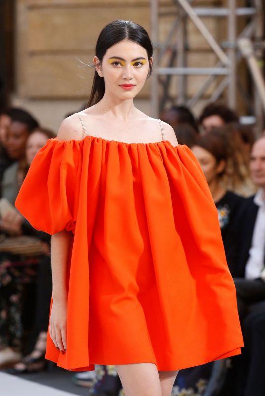 DAVIKA HOORNE at Le Defile L'Oreal Paris Show at Paris Fashion Week 09/28/2019