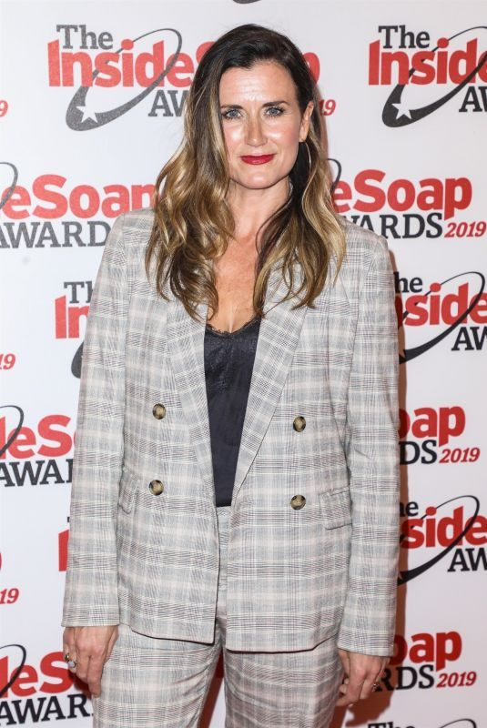 DAWN STEELE at Inside Soap Awards 2019 in London 10/07/2019