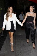 DELILAH and AMELIA HAMLIN at Beauty & Essex in Hollywood 10/18/2019