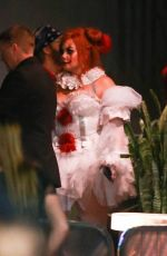 DEMI LOVETO at Her Halloween Party at Hyde in Hollywood 10/26/2019