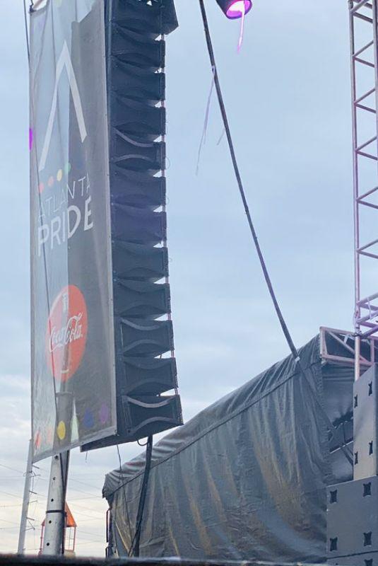 DINAH JANE Perfrorms at ATL Pride in Atlanta 10/13/2019