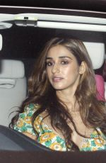 DISHA PATANI in Ripped Jeans Out for Dinner in Mumbai 10/11/2019