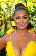EBONI WILLIAMS at Veuve Clicquot Polo Classic at Will Rogers State Park in Los Angeles 10/05/2019