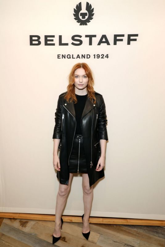 ELEANOR TOMLINSON at Belstaff Flagship Opening on Regent Street in London 10/10/2019