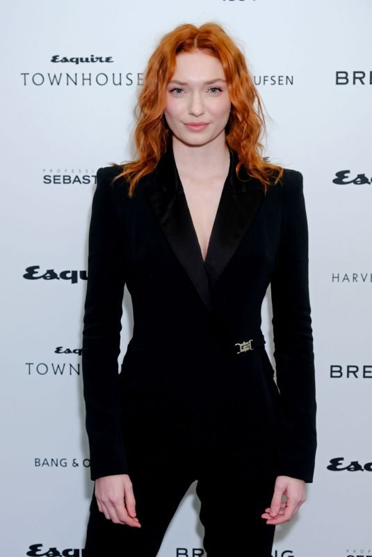 ELEANOR TOMLINSON at Esquire Townhouse with Breitling Launch in London 10/16/2019