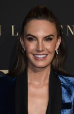 ELIZABETH CHAMBERS at Elle Women in Hollywood Celebration in Los Angeles 10/14/2019