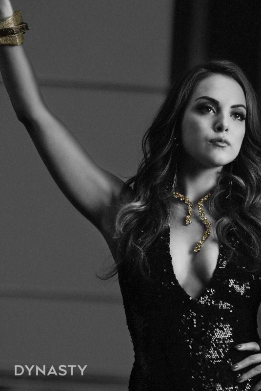 ELIZABETH GILLIES – Dynasty, Season 3 Promos