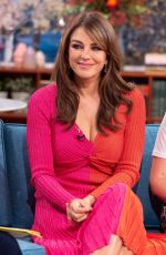 ELIZABETH HURLEY at This Morning TV Show in London 10/07/2019