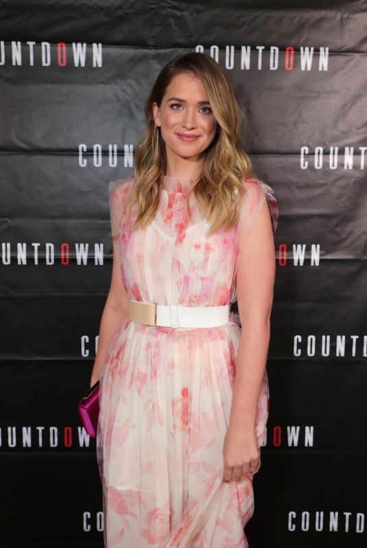ELIZABETH LAIL at Countdown Special Screening in Los Angeles 10/23/2019