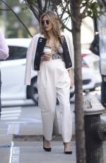 ELIZABETH OLSEN Out and About in New York 10/02/2019