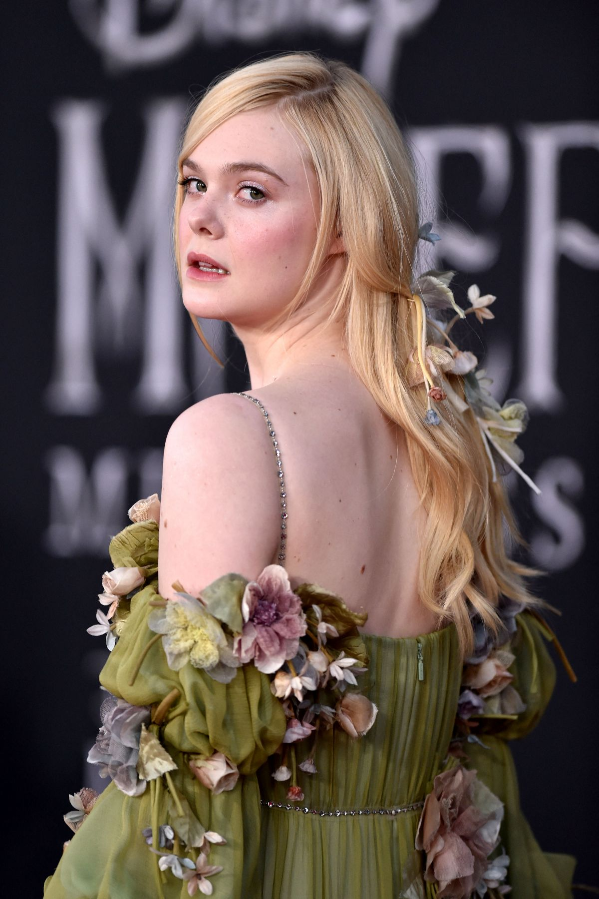 Elle Fanning At Maleficent Mistress Of Evil Premiere In Los