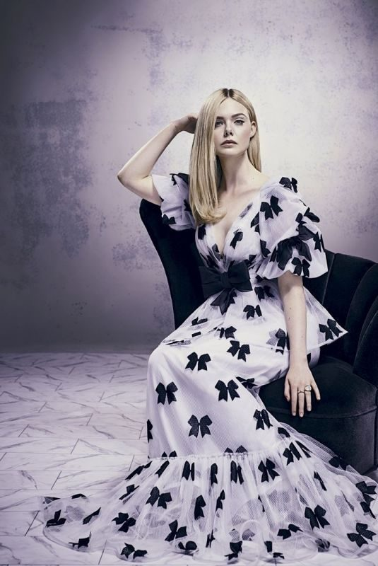 ELLE FANNING for Marie Claire Magazine, Argentina October 2019