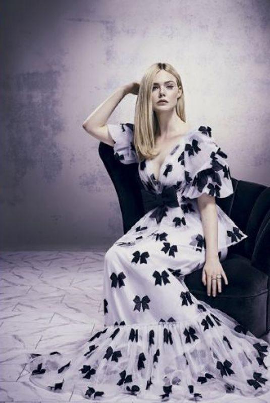 ELLE FANNING for Marie Claire Magazine, Brasil 2019