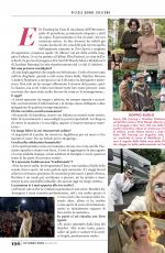 ELLE FANNING in Glamour Magazine, Italy October 2019