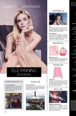 ELLE FANNING in Semanario Estilo Magazine, October 2019