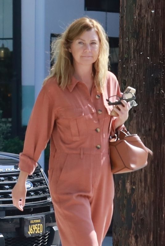 ELLEN POMPEO Out and About in Los Angeles 10/09/2019