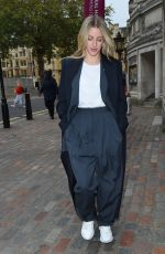 ELLIE GOULDING Arrives at The One Young World Summit in London 10/23/2019