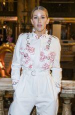 ELLIE GOULDING at Stella McCartney Show at Paris Fashion Week 09/30/2019