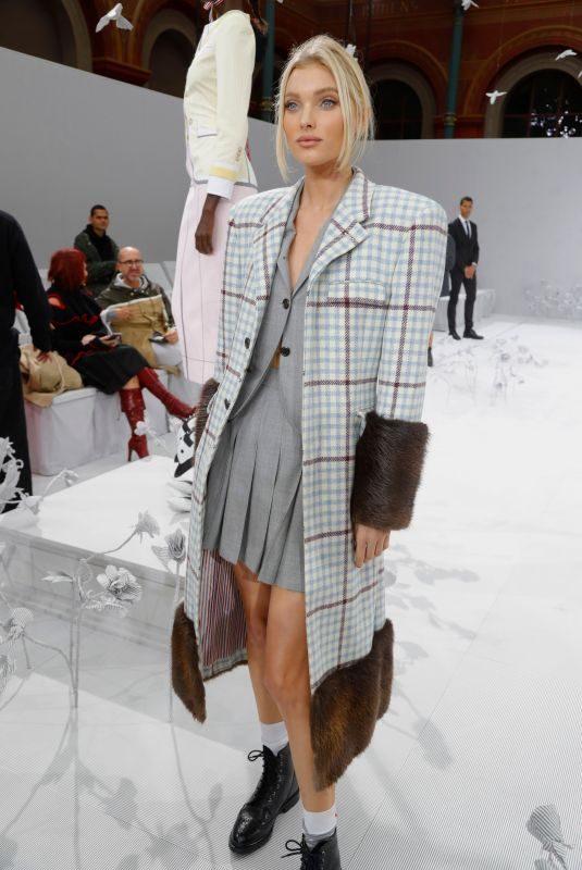 ELSA HOSK Thom Browne Fashion Show at PFW in Paris 09/29/2019
