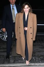 EMILIA CLARKE Out and About in New York 10/30/2019