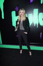 EMILY ALYN LIND at 2019 Huluween Celebration at New York Comic Con 10/04/2019