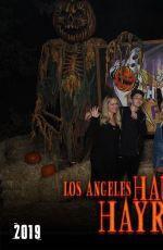 EMILY ALYN LIND for Los Angeles Haunted Hayride, October 2019