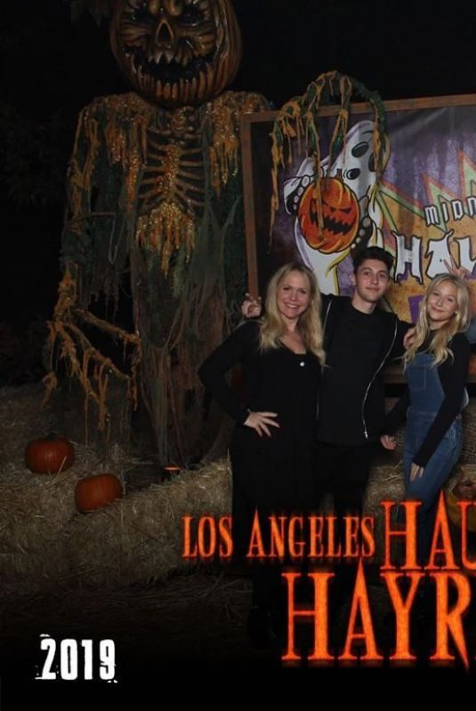 EMILY ALYN LIND for Los Angeles Haunted Hayride, October 2019