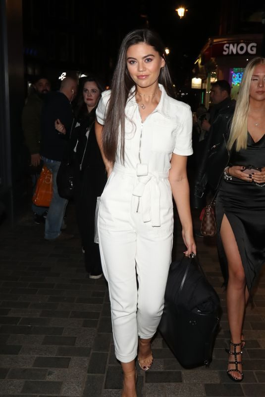 EMILY CANHAM at Nasty Gal ft. Cara Delevingne Launch in London 10/22/2019