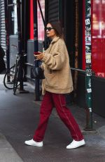 EMILY RATAJKOWSKI Out and About in New York 10/08/2019