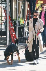 EMILY RATAJKOWSKI Out with Colombo in New York 10/21/2019