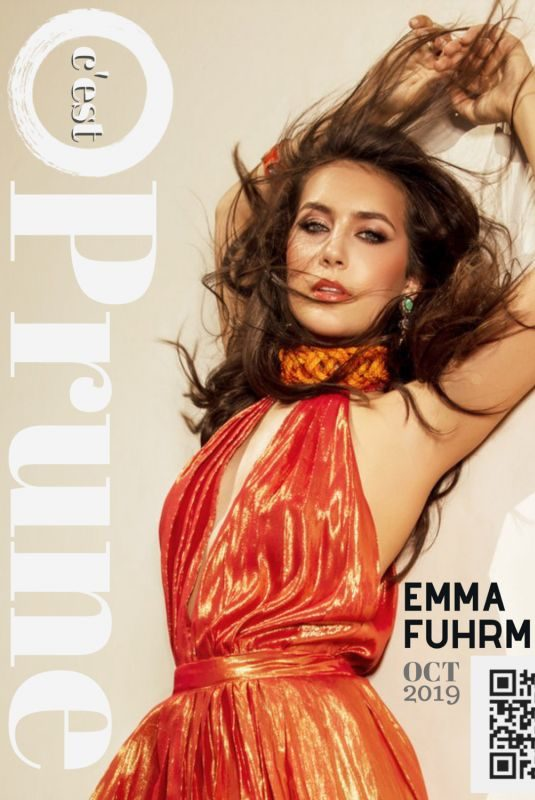 EMMA FUHRMANN for C'Est Prune Magazine, October 2019