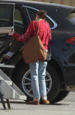 EMMA ROBERTS Arrives at a Studio in Los Angeles 10/18/2019