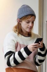 EMMA WATSON Out Kissing Mistery Man in London 10/24/2019