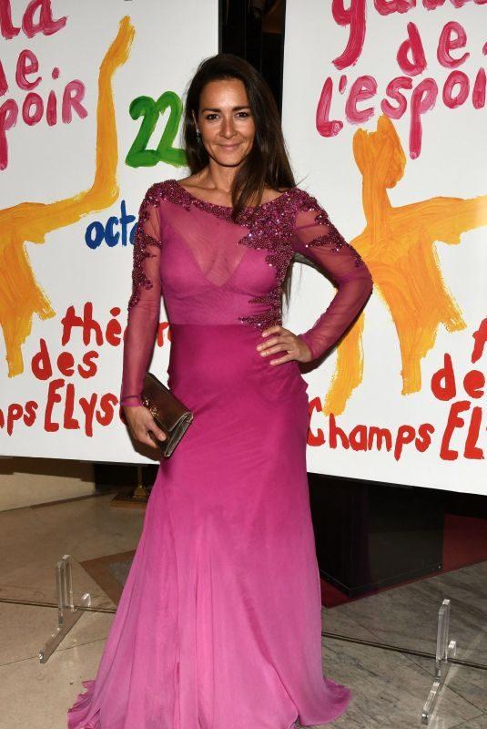 EMMANUELLE BOIDRON at Gala for Hope De L'Espoir in Paris 10/22/2019