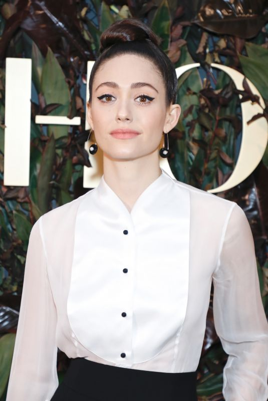 EMMY ROSSUM at 4th Annual WWD Honors in New York 10/29/2019