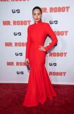 EMMY ROSSUM at Mr. Robot, Final Season Premiere in New York 10/01/2019